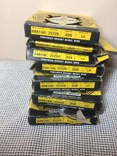 7 Boxes Steel Spring Music Wire, Precision Brand