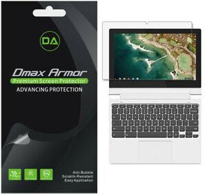 "3X Dmax Armor Clear Screen Protector for Lenovo Chromebook C330 / Flex 3 (11.6"")"