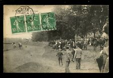 France Limousin POMPADOUR Race Course Depart 1923 PPC horses