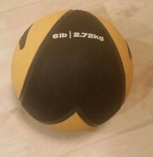 Nike - 6lb (2.7kg) Medicine Ball - Low Bounce - Hard Rubber - Yellow and Black