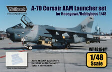 Wolfpack WP48164, A-7D Corsair II AAM Launcher set (for Hasegawa/Hobb,SCALE 1/48
