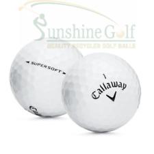 24 Mint Callaway Supersoft AAAAA Used Golf Balls - FREE SHIPPING