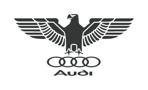 Audi german eagle decal sticker S line RS