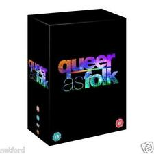 "QUEER AS FOLK COMPLETE SERIES COLLECTION 1-5 US 24 DISC DVD BOX SET R4 ""NEW"""