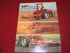 Massey Ferguson 120 220 25 Disc Dealer's Brochure 764AG978/10-4