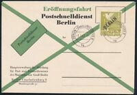 BERLIN, MiNr. 17 c, Postschnelldienst-FDC mit AkB I, Attest Schlegel, Mi. 825,-