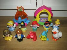Fisher Price Disney Princess Little People Little Mermaid & Many More
