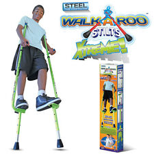 Walkaroo Xtreme Steel Balance Stilts Toy Height Adjustable Lifters 6+ Geospace