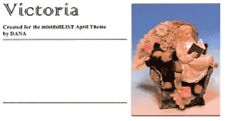 1:12 scale Miniature Doll Art Tutorial By Dana Pattern/Clothes/Hair Victoria