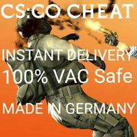 Limited Counter Strike Global Offensive (CS GO) Private Hack Cheat LIFETIME safe