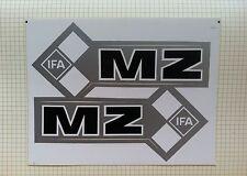 MZ IFA FUEL TANK STICKER SET- BLACK