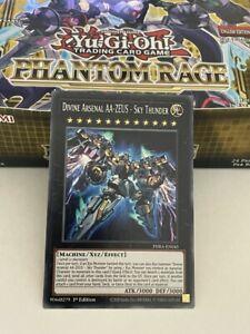Divine Arsenal AA-ZEUS - Sky Thunder Yu-Gi-Oh! Secret Rare Phantom Rage