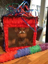 5 Five Nights At Freddy 'FNAF Pinata Con Dulces & Stick Fiesta Freddys
