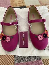 Girls Ballet Flat From gymboree berry cute Size 1 Youth