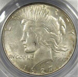 1927-S PCGS MS62 Peace Dollar AD517