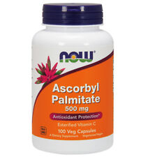 NOW Foods Ascorbyl Palmitate Vitamin C 500mg x 100 Veg Capsule