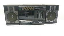 Vintage  SONY CFS-3300 AM/FM RADIO CASSETTE PLAYER 1986