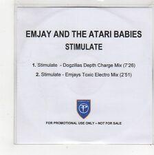 (FQ965) Emjay & The Atari Babies, Stimulate - DJ CD
