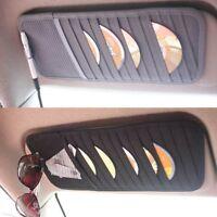 Car Sun Visor CD DVD Card Bag Storage Holder Cover Case Organizer For GMC Be  +