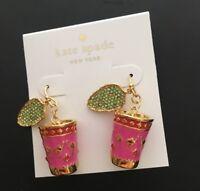 Kate spade New York Full Plume Tea French Wire Earrings