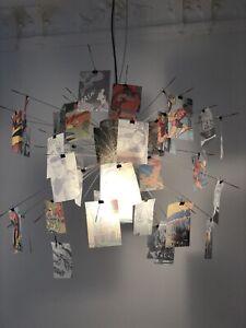 Ingo Maurer Designer-Lampe ZETTEL'Z 6 Comic Magnus