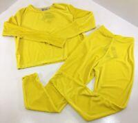 Cupcakes & Vodka Womens 2 Piece Velvet Jumpsuit Set Yellow Medium NWT+