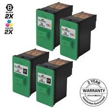 4 Pack for Lexmark 16 26 Combo Black & Color Ink Cartridge Printer x1185 x1190