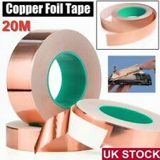 5/10/20mm Length Conductive Copper Foil Tape Self Adhesive Emi Shielding Tape UK