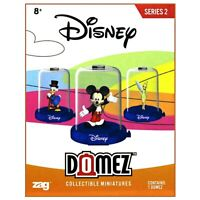 DISNEY collectible miniatures MYSTERY surprise SERIES 2 DOMEZ MINI FIGURE NEW
