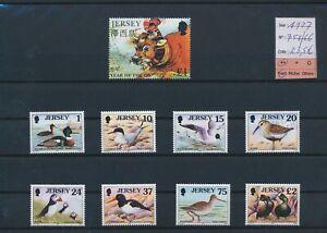 LN29575 Jersey 1997 birds animals fine lot MNH cv 23,5 EUR