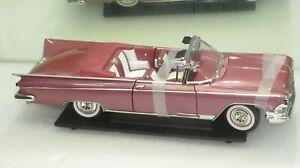 1959 BUICK ELECTRA 225 METALLIC ROSE NEW IN BOX 1:18
