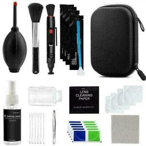 9 in-1 Professional Lens Cleaning kit Tool For Canon Nikon DSLR Ca New G1L3 Z4K6