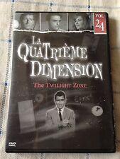 la quatrième dimension DVD volume 24  3 épisodes la série mythique années 60 !