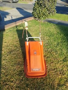 Retro Vintage Flymo Electrolux XE38 Lawn Mower Garden Shed working