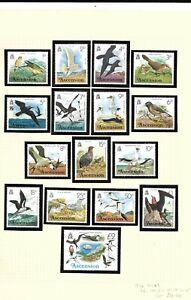 Ascension 1976 Birds set MNH
