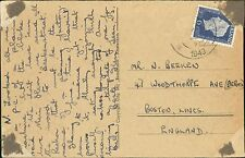 Mr N Beeken. 47 Woodthorpe Avenue, Boston, Lincs 1949 RJ.818