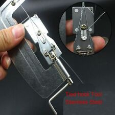 Portable Stainless Steel Semi Automatic Fishing Hook Line Tier Tie Binding Tools