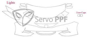 16+ Honda Accord Coupe 2 Door 3M Scotchgard Pro Series Clear Bra Kit
