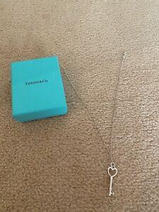Tiffany & Co key necklace (damaged)
