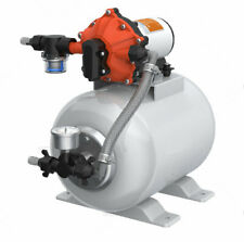 SeaFlo Marine Water Pump 12 V DC 60 PSI 5.5 GPM 2 Gallon Accumulator Tank System
