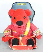 More details for ferrari rosso teddy bear soft plush toy - boxed - (2000 / mattel)