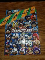 2017 TEENYMATES SERIES 6 COMPLETE NFL PUZZLE SET / ALL 35 PIECES - BRAND NEW
