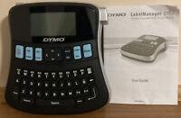 Dymo Label Maker Label Manager 210D W/ Blue & White Labels