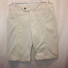 Royal Robbins Activewear Short Women Size 6 Khaki Walking Outdoor Bermuda Nylon