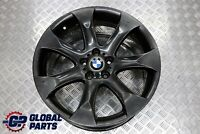 "BMW X5 E53 Front Black Alloy Wheel Rim 20"" 9,5J ET:45 V-Spoke 168 6766068"
