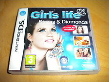GIRLS LIFE STRASS DIAMONDS  ! JEU DS / DS LITE / DSI  / 2 DS