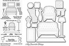 My Favorite Things Make Yourself at Home  Clear Stamp and Die Set