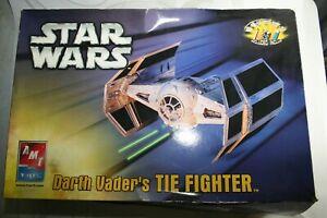 """Star Wars """"Darth Vader's TIE Fighter"""" AMT Ertl Model - NEW -"""
