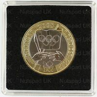 2008 The Olympic Games Handover to London £2 BU coin