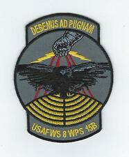 8th WEAPONS SQUADRON, USAF WEAPONS SCHOOL CLASS 15B patch